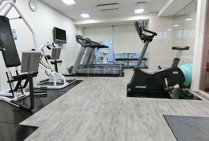 Fitness room   AZABU DAI-ICHI MANSIONS Exterior photo 11