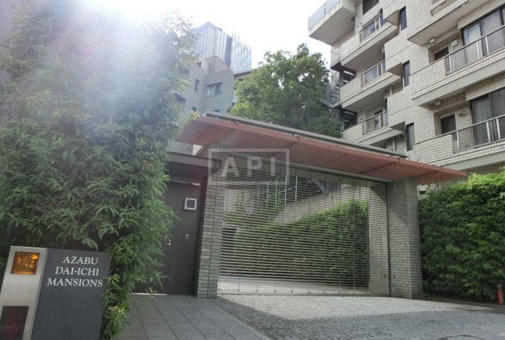 Exterior   AZABU DAI-ICHI MANSIONS Exterior photo 03