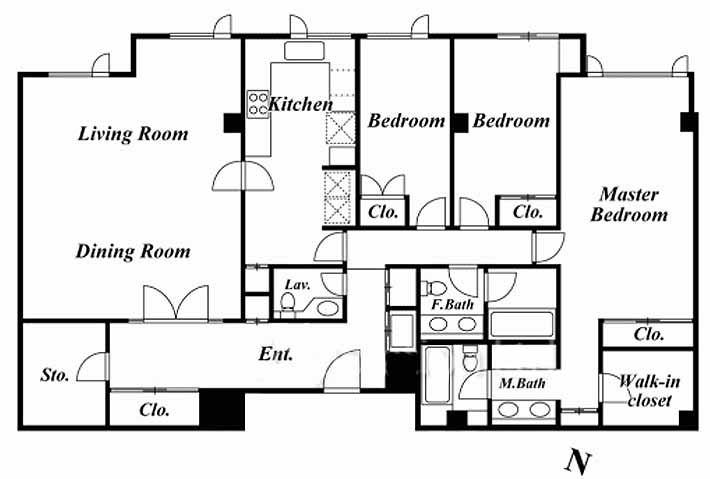 Homat Ambassador 510 Floor plan