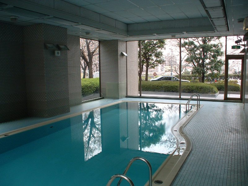 Indoor Swimming Pool | SUMIDA RIVER SIDE TOWER Exterior photo 02